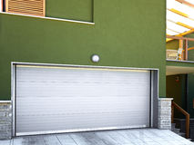 Дверь гаража стоковые изображения