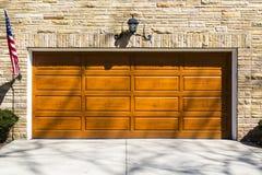 Дверь гаража Стоковое Изображение RF