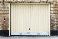 Дверь гаража Стоковое Изображение