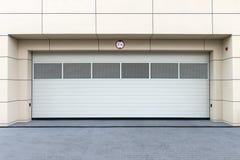 Дверь гаража Стоковое Фото