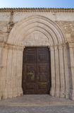 дверь готская Стоковое Фото