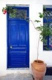 дверь Греция Стоковая Фотография RF