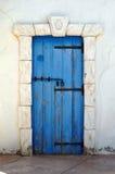 дверь Греция Стоковые Изображения
