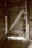 дверь деревенская Стоковое Изображение