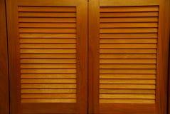 дверь деревянная Стоковые Изображения