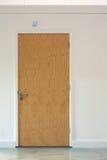 дверь деревянная Стоковое Изображение RF