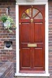 дверь деревянная Стоковое Фото