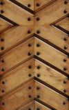 дверь детали woden стоковые изображения rf