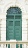Дверь, европейский стиль Стоковая Фотография