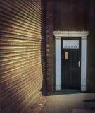 Дверь джаз-клуба Стоковая Фотография RF