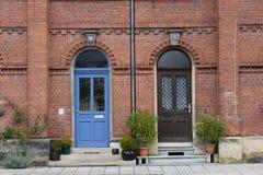 дверь живя затем Стоковая Фотография RF
