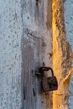 дверь загадочная Стоковые Фотографии RF