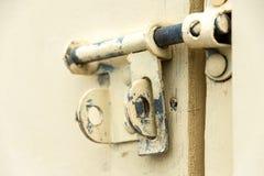 Дверь замка защелки Стоковое Изображение