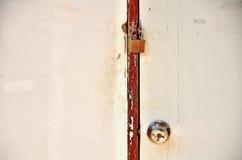 Дверь заперта Стоковое Изображение RF