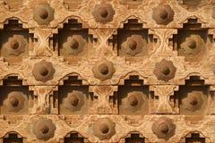 дверь Индия деревянная Стоковое фото RF