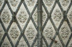 дверь историческая Стоковые Изображения RF