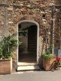 дверь Италия Стоковые Фотографии RF