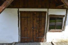 Дверь и окно старые Стоковое фото RF