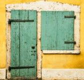 Дверь и окно Стоковые Фотографии RF