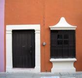 Дверь и окно стоковое фото rf