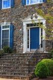 Дверь и шаги входа Стоковые Изображения RF