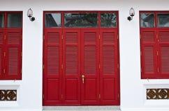 Дверь и Windows Tample Стоковые Фотографии RF