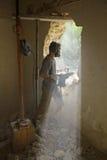Дверь 2 каменщика стоковое фото rf