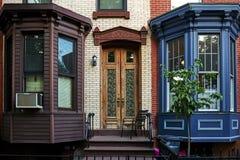 Дверь квартиры Стоковые Изображения RF