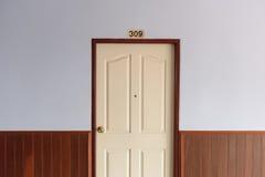 Дверь комнаты Стоковое Фото