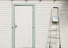 дверь коттеджа Стоковое фото RF