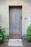 Дверь коттеджа Стоковая Фотография