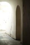Дверь кривого Стоковые Фотографии RF