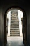 Дверь кривого Стоковое фото RF