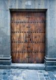 дверь крупного плана старая Стоковые Изображения RF