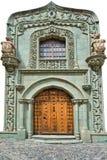 дверь крупного плана старая Стоковая Фотография