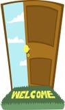Дверь к раю! иллюстрация штока