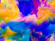 Дверь к цветам Стоковая Фотография RF
