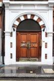 Дверь Лондон Стоковое Изображение RF