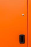 Дверь металла техническая Стоковые Изображения RF