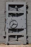 Дверь металла стоковая фотография rf