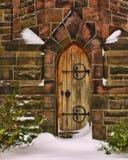 дверь молельни Стоковая Фотография