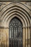 Дверь монастырской церкви Йорка Стоковые Изображения RF