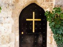 Дверь монастыря металла Стоковые Изображения