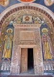 Дверь монастыря стоковое изображение rf