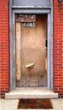 дверь нечетная Стоковое Фото