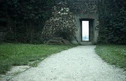 дверь нигде к Стоковое Изображение RF