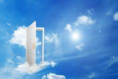 дверь новая к миру стоковое фото
