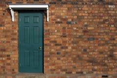 дверь одиночная Стоковая Фотография