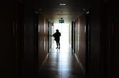 Дверь отверстия женщины Стоковые Фото