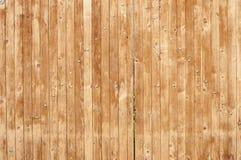 Дверь патио деревянных доск Стоковое Изображение